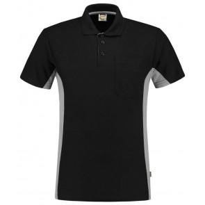 Tricorp 202002 Poloshirt Zwart-Grey