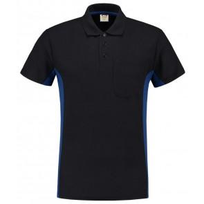 Tricorp 202002 Poloshirt Marineblauw-Royalblue