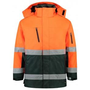 Tricorp 403004 Parka ISO20471 Fluor Oranje-Groen