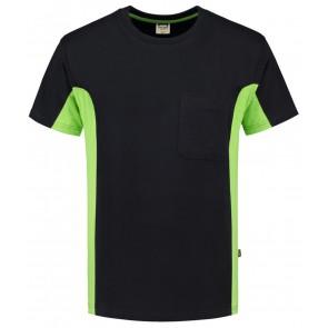 Tricorp 102002 T-Shirt Zwart-Lime