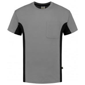 Tricorp 102002 T-Shirt Grijs-Zwart