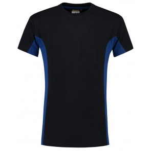 Tricorp 102002 T-Shirt Marineblauw-Royalblue