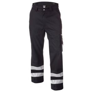 Dassy Vegas Werkbroek met reflecterende banden Zwart
