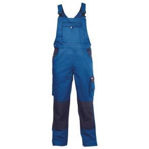Dassy Versailles bretelbroek met kniezakken Korenblauw/Marineblauw