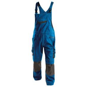 Dassy Voltic bretelbroek met kniezakken D-FX Blauw/Grijs