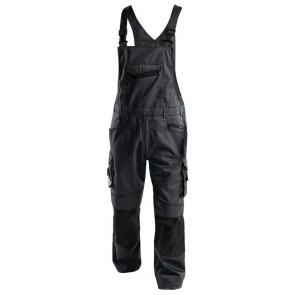 Dassy Voltic bretelbroek met kniezakken D-FX Grijs/Zwart