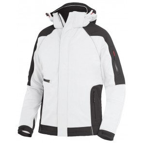 FHB Walter Softshell-Jack Wit-Antraciet