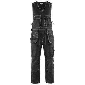 Blåkläder 2650-1370 Amerikaanse overall Zwart Voorkant